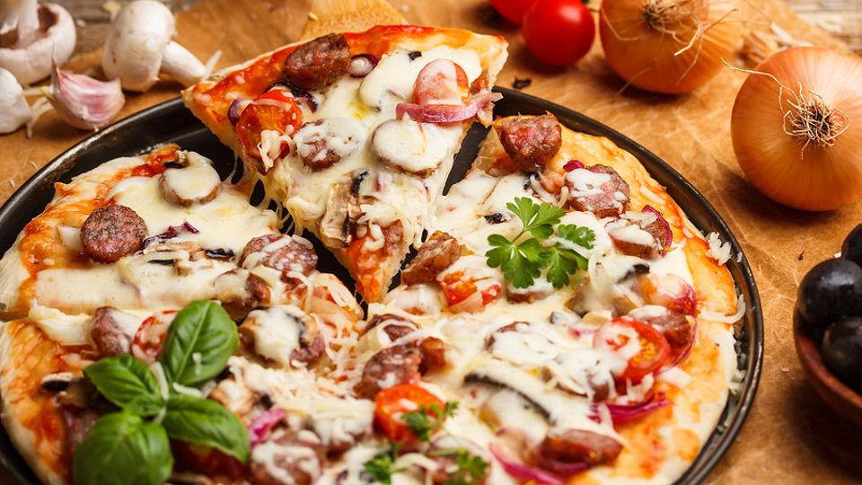 pizzasütés